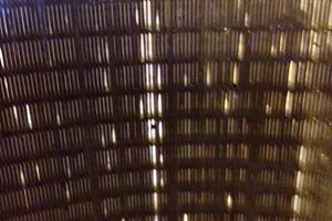 Worn Wedge Wire Element