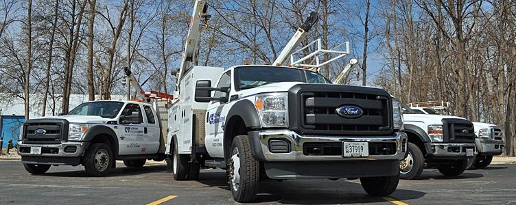 Field Service and Repair Trucks