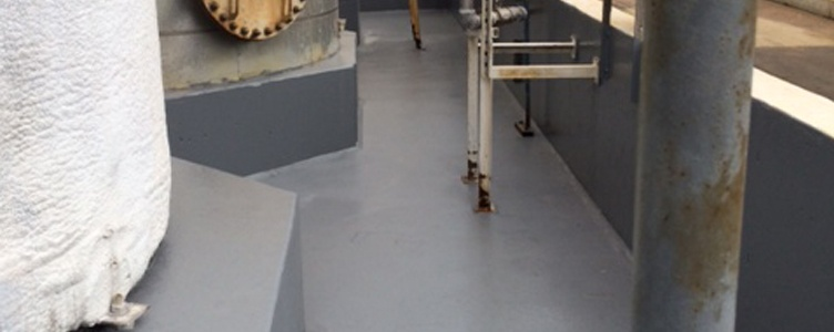 Chemical Containment Area Coating