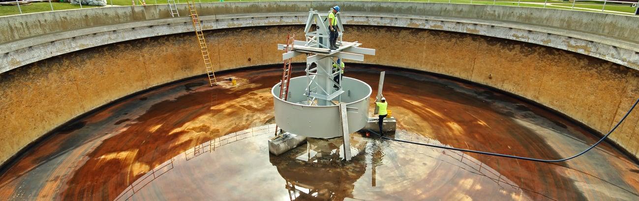 Wastewater Clarifier Repair