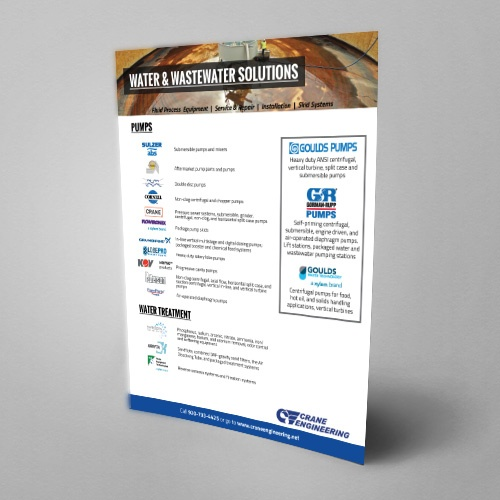 Water & Wastewater Line Card