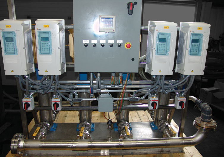 High Pressure Cleaning System