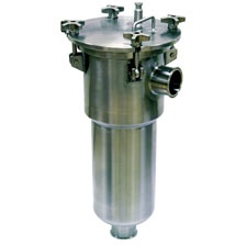 Sani-Matic Stainless Steel Basket Strainer