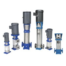 Goulds Water Technology e-SV Vertical Multi-Stage Centrifugal Pump