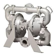 Warren Rupp Heavy Duty Flap Air-Operated Diaphragm Pump