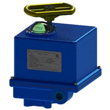 Indelac Controls Electric Rotary Actuator - M Series
