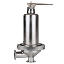 Cashco Sanitary Back Pressure Regulator C-BPV