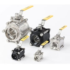 Flow-Tek 3-Piece Ball Valve