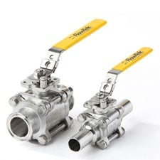 Flowtek Sanitary Ball Valve Model S7500-S7700