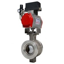 Flowtek Segmented Ball Valve Series 19