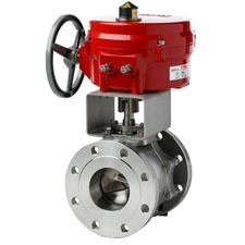 FlowTek V Port Ball Valve