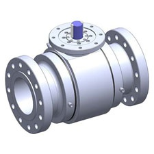 J Flow Metal Seated Trunnion Ball Valve Series 9800