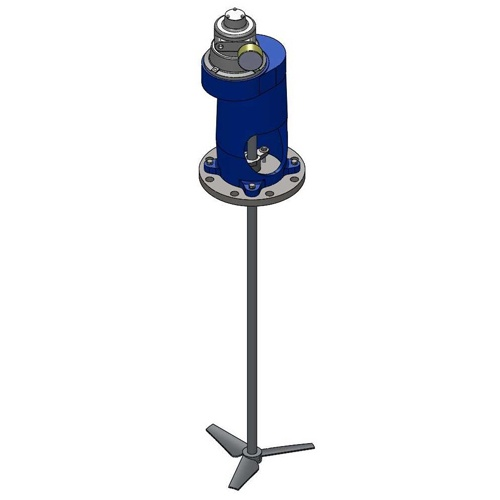Cleveland Mixer FRAG-C Fixed Entry Industrial Mixer