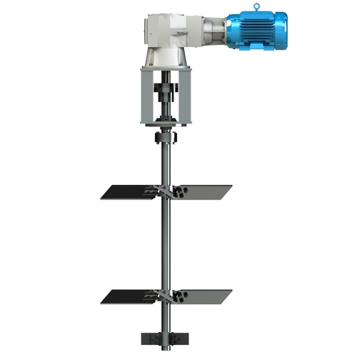 Right Angle Mixer : Cleveland mixer rxt right angle top entry