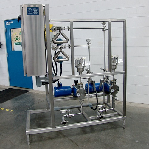 OptiFlow PureWipe (Wet Wipe) Skid System