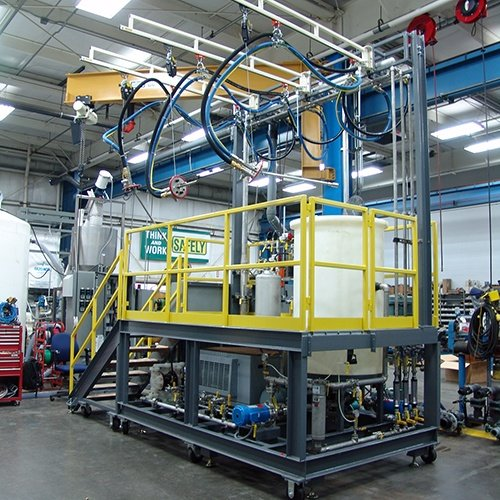 OptiFlow TurboWash Cleaning Skid System
