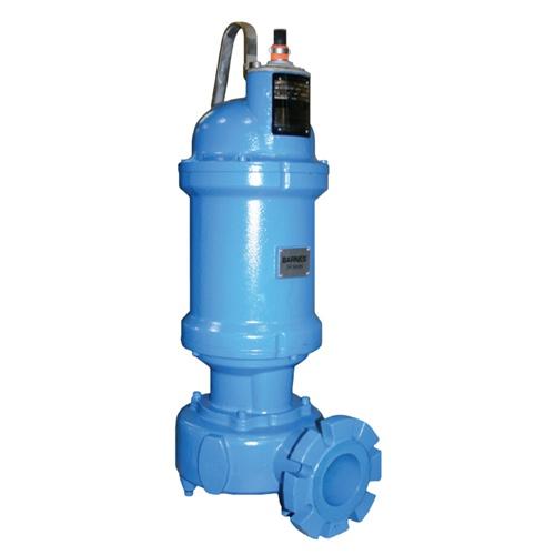 Barnes Solids Handling Sh Series Submersible Sewage Pump