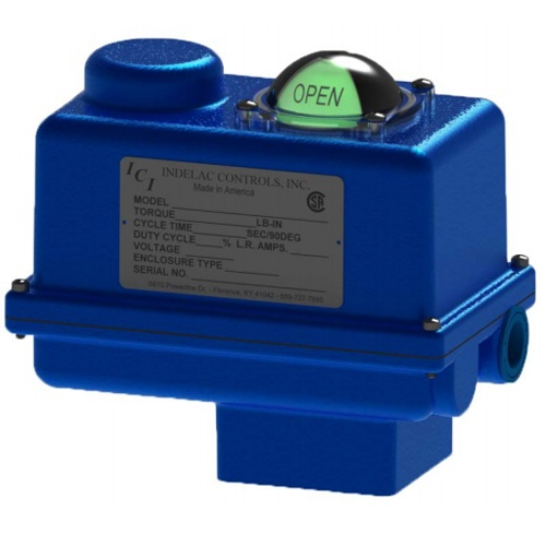 Indelac Controls Electric Rotary Actuator - S Series