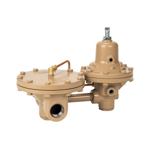 Pilot-Operated Pressure Reducing Steam Regulator