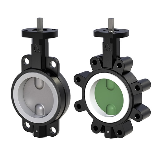 Delta T Series 051 Resilient Seated Butterfly Valves