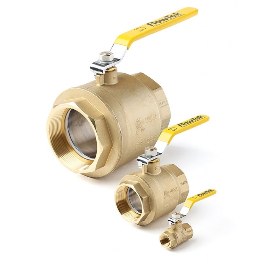 Flow-Tek 2-Piece Series S51 Ball Valve