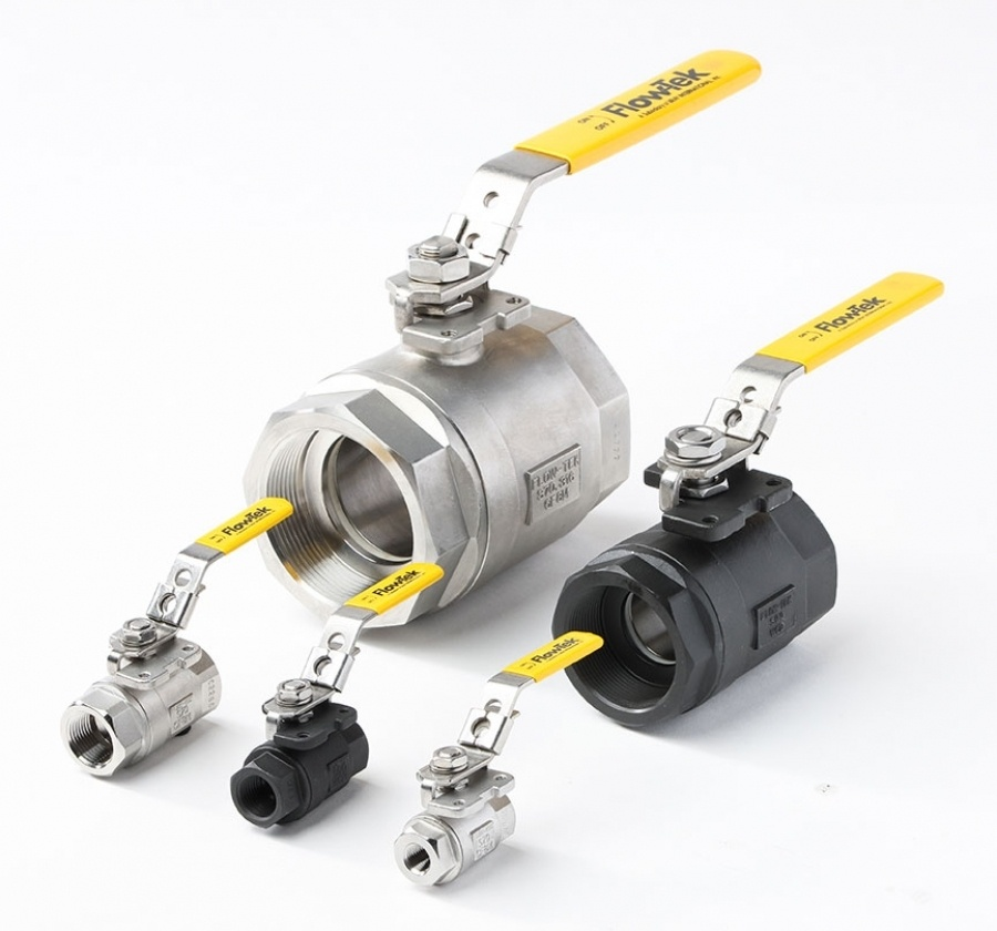 Flow-Tek 2-Piece Series S90 Ball Valve