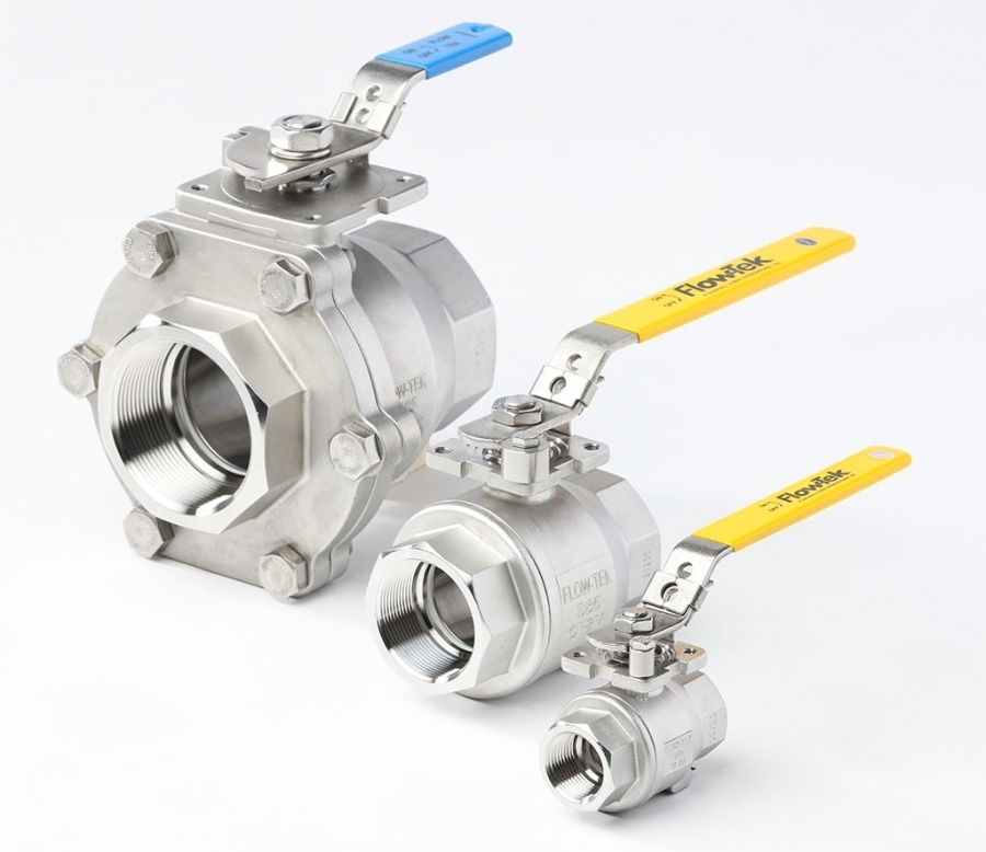 Flow-Tek 2-Piece Series S85 Ball Valve
