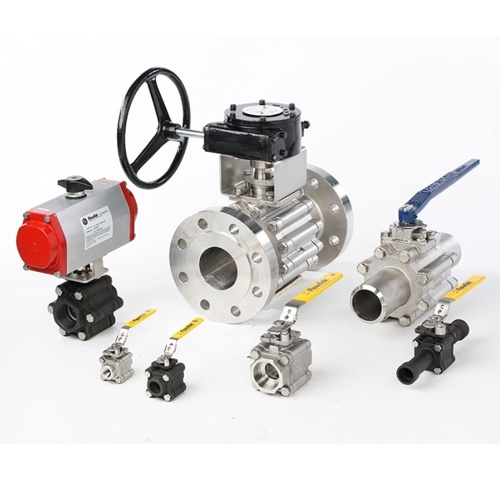 FlowTek 3 Piece Ball Valve Triad Series
