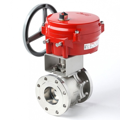 Flow-Tek Trunnion-Type Ball Valve - F15/F30 Flanged Series