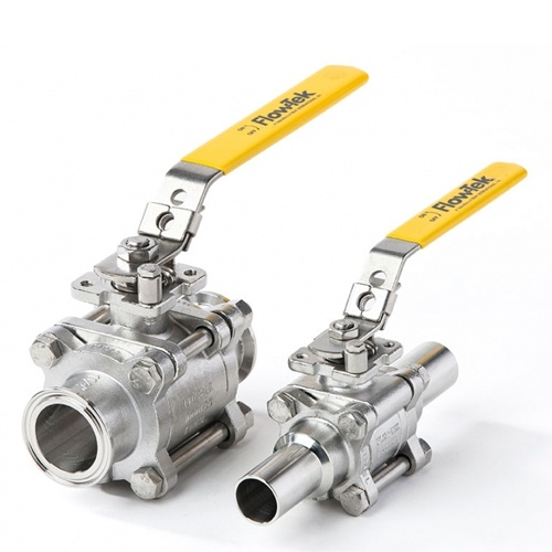 Flow-Tek Sanitary Ball Valve - Model S7500 & S7700