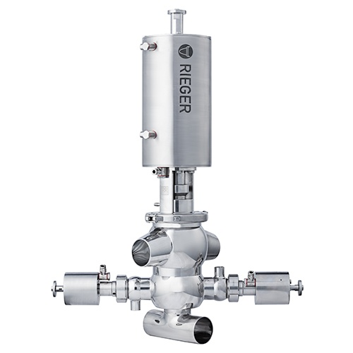 Rieger N7 Aseptic Mixproof Valve