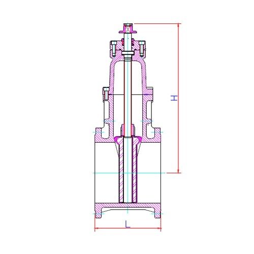 Water Technology Resources Large Gate Valve