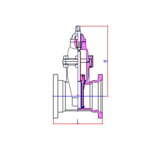 WTR Resilient Seated Gate Valve