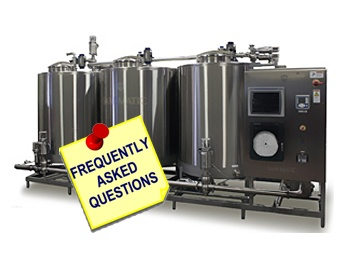 Answers To 6 FAQs About COP and CIP Systems