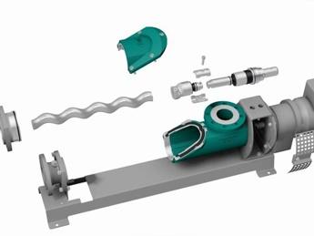 New Progressive Cavity Pump Design Makes Maintenance A Breeze