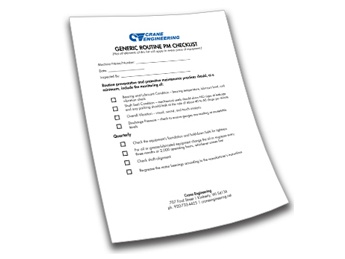 FREE DOWNLOAD: Preventative Maintenance Checklist