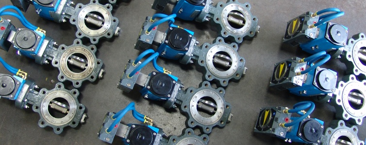Butterfly Valves With Valve Automation