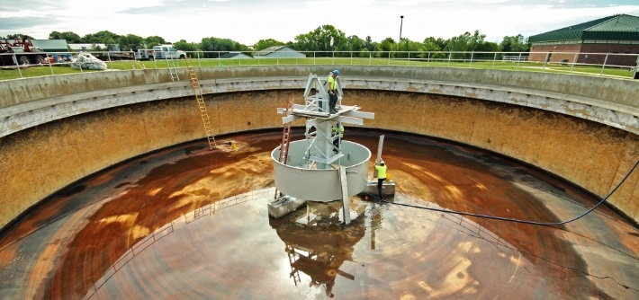 Wastewater Clarifier Rehabilitation