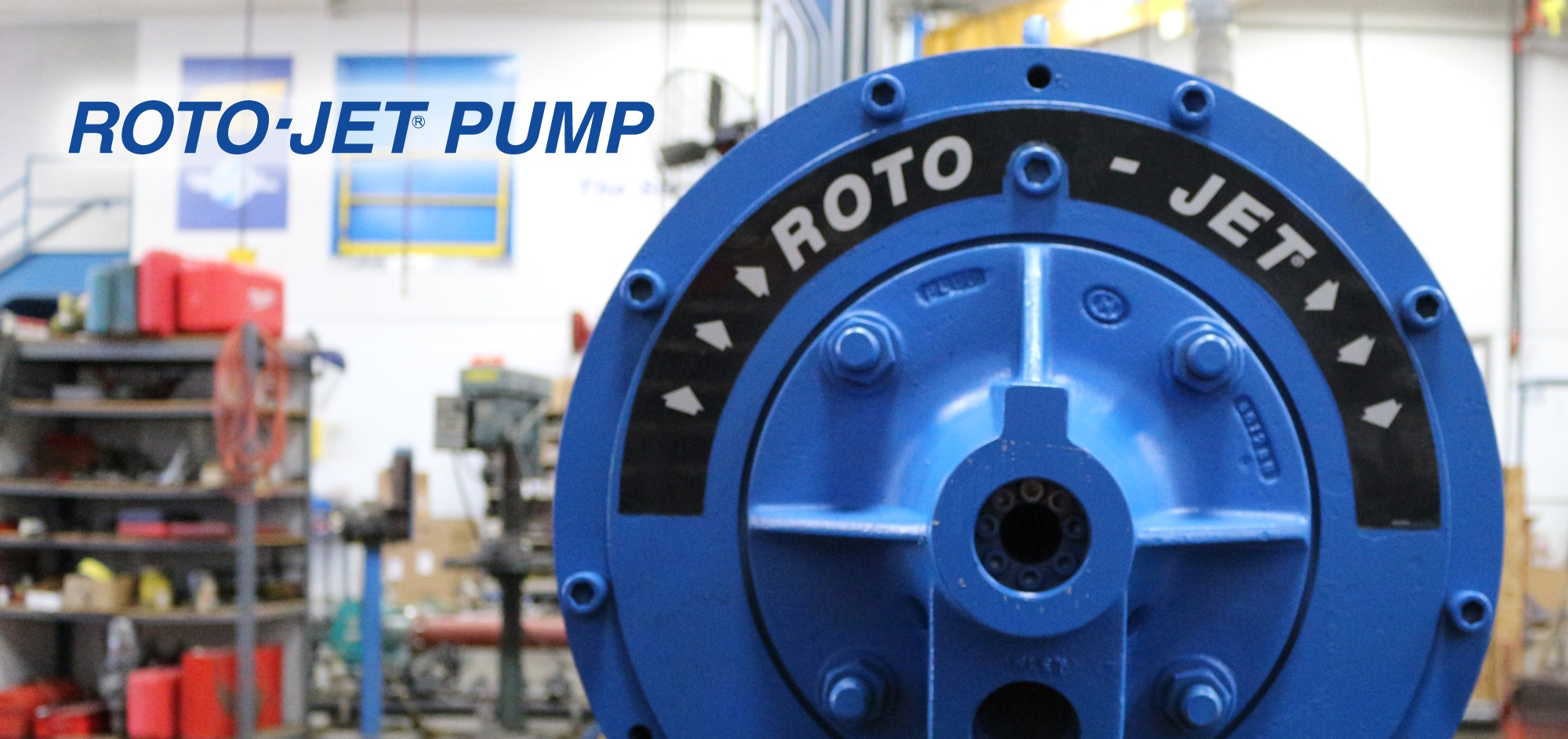 Roto Jet Pump Repair