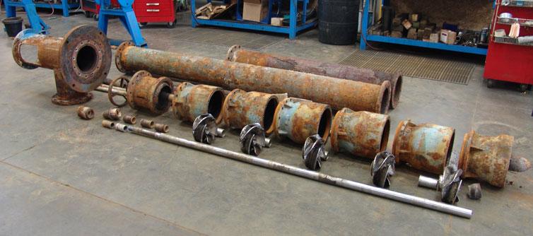 Vertical Turbine Pump Repair