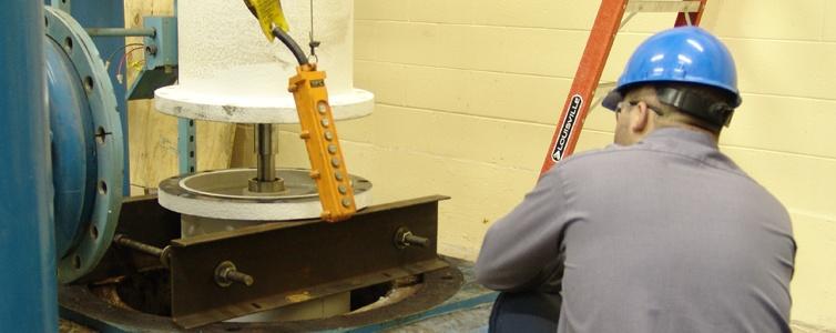 Vertical Turbine Installation