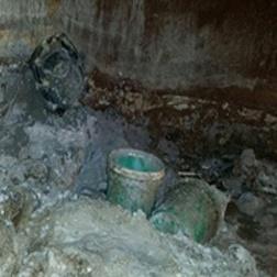 Sludge Causes Fiberglass Tank Corrosion, Repair