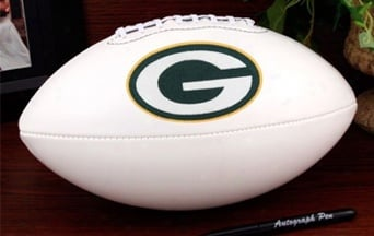 Packer Autographed Football