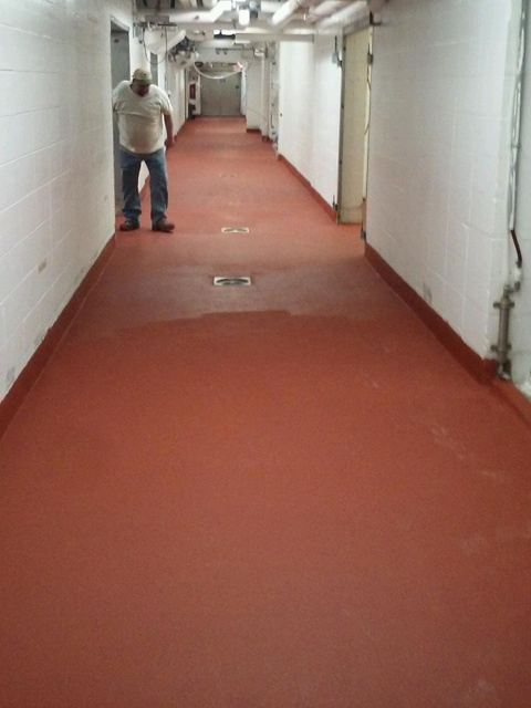 Dairy Floor Coating