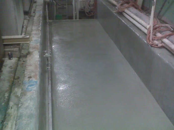 Industrial Trench Coating