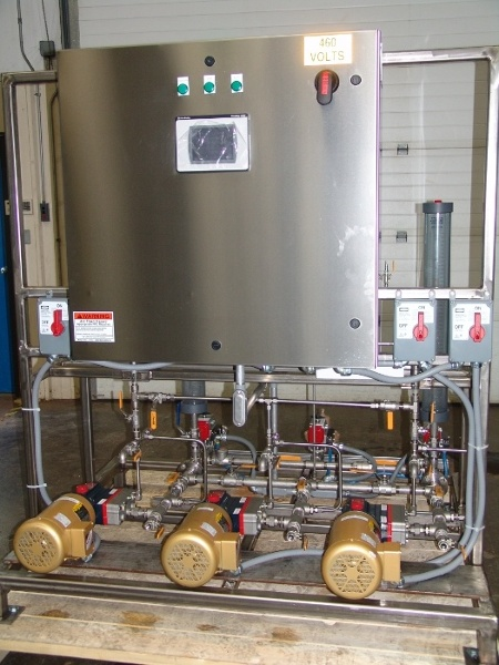 Chemical Blending Skid System