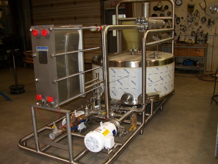 Dairy Butter Reclaimation Skid