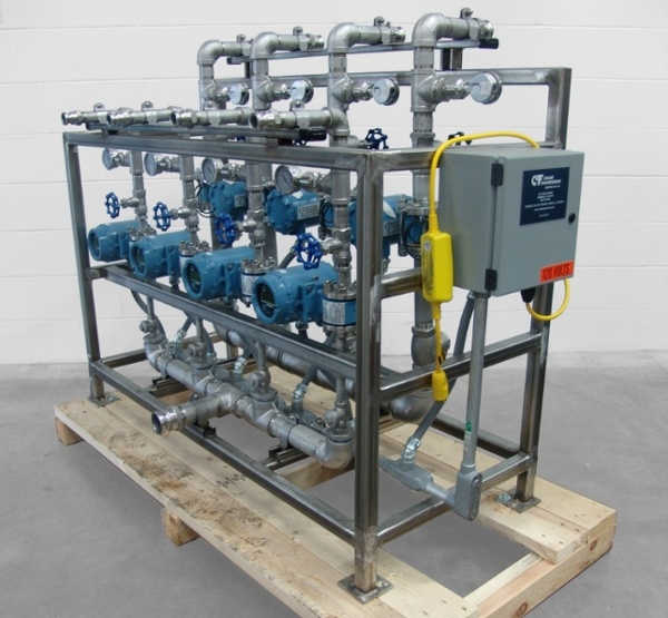 Flow Splitter Skid System
