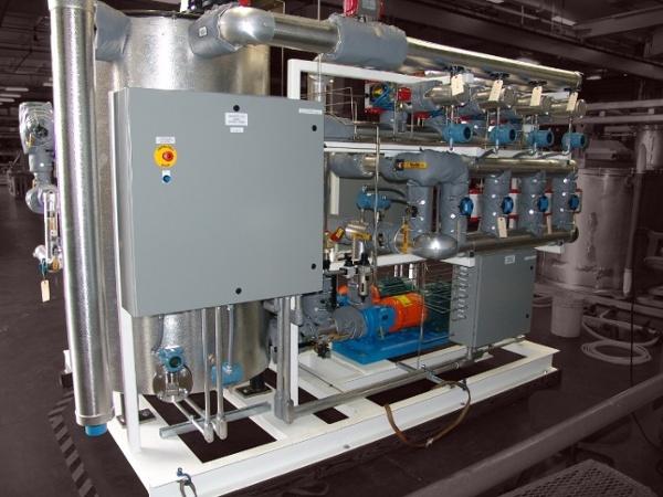 Heating Skid System