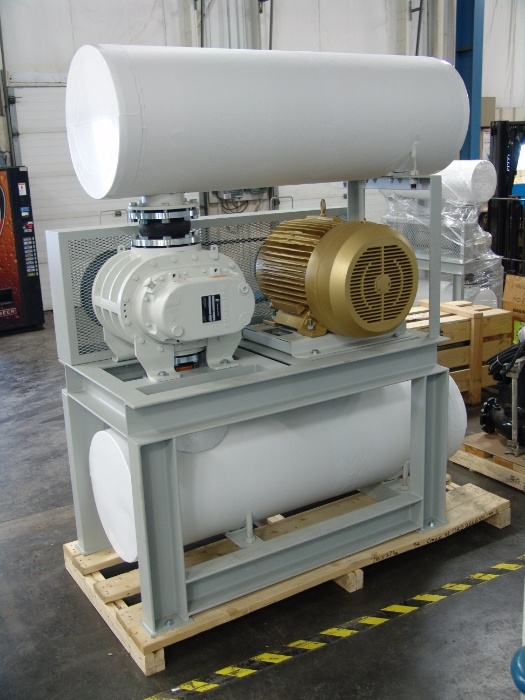 Municipal Blower Package Skid System